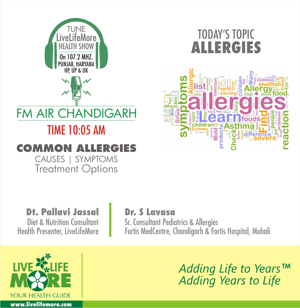 LiveLifeMore Health Show : ALLERGIES