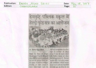 May 18_Hemkunt_Medical Talk Dainik Nyay Seitu_page 10