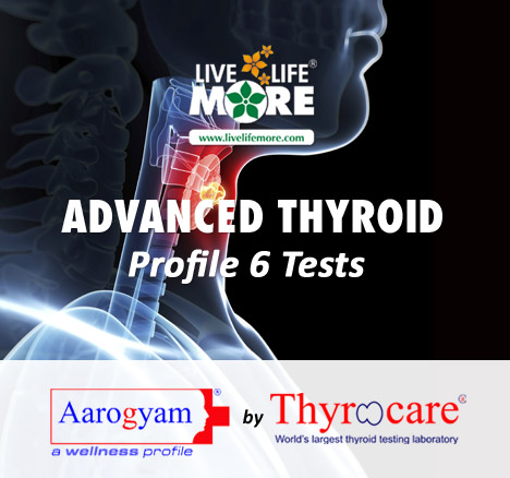 Thyrocare Advanced thyroid profile