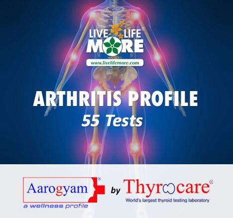 Thyrocare Arthritis Profile