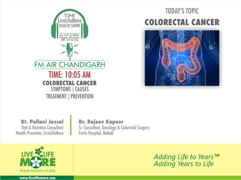 Health Talk Show with Senior Colorectal Cancer Surgeon Dr. Rajeev Kapoor