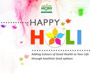 holi greetings from LiveLifeMore