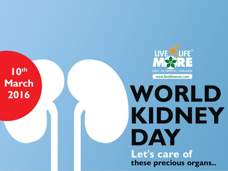 World Kidney Day 2016 –  Your Kidneys are worth a lot more attention