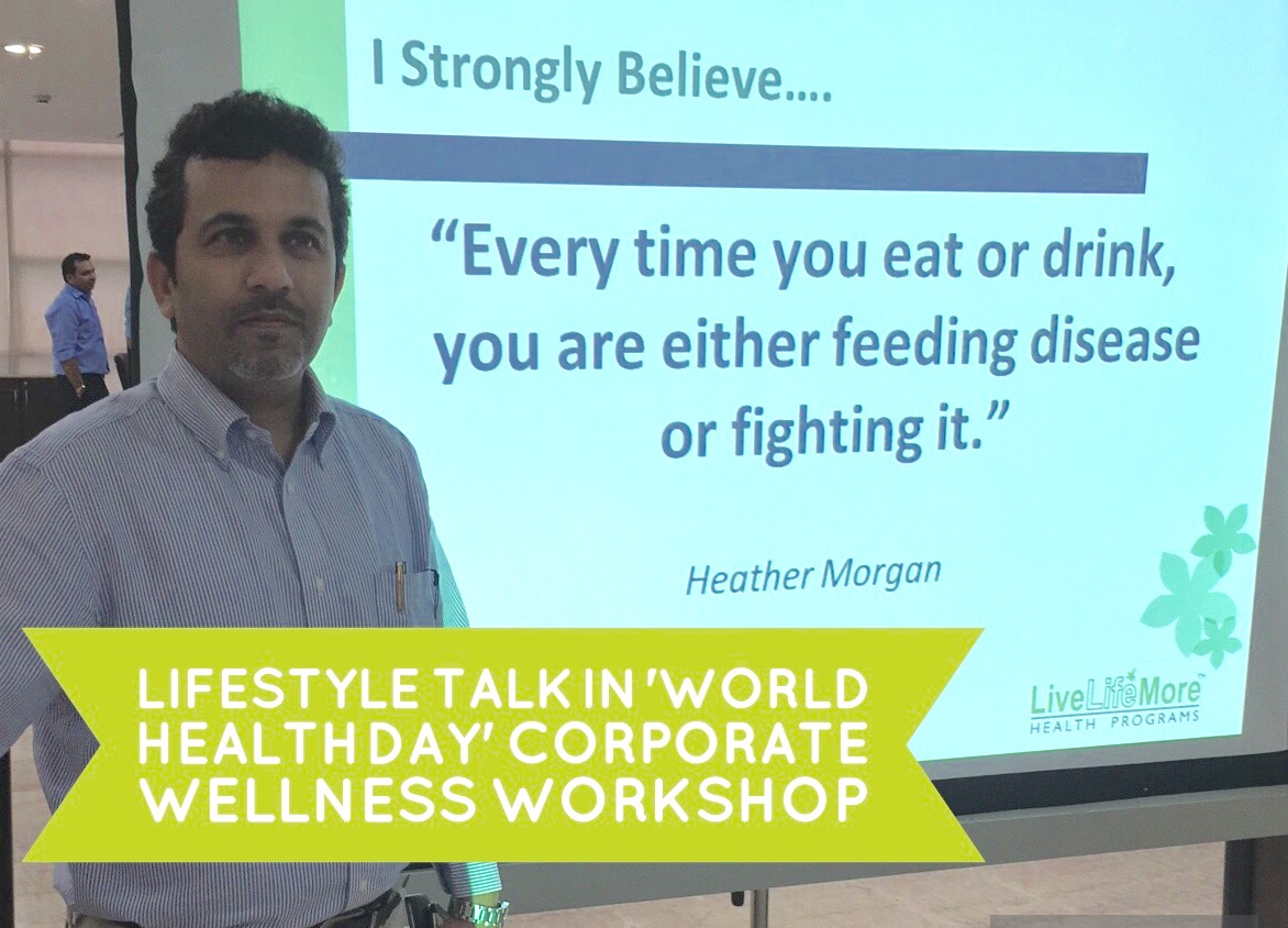 'World Health Day' WOW – Wisdom of Wellness – Workshops at Aircel & Tech Mahindra Regional offices