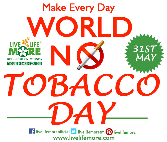 This World No Tobacco Day, Quit Smoking & Live Healthy