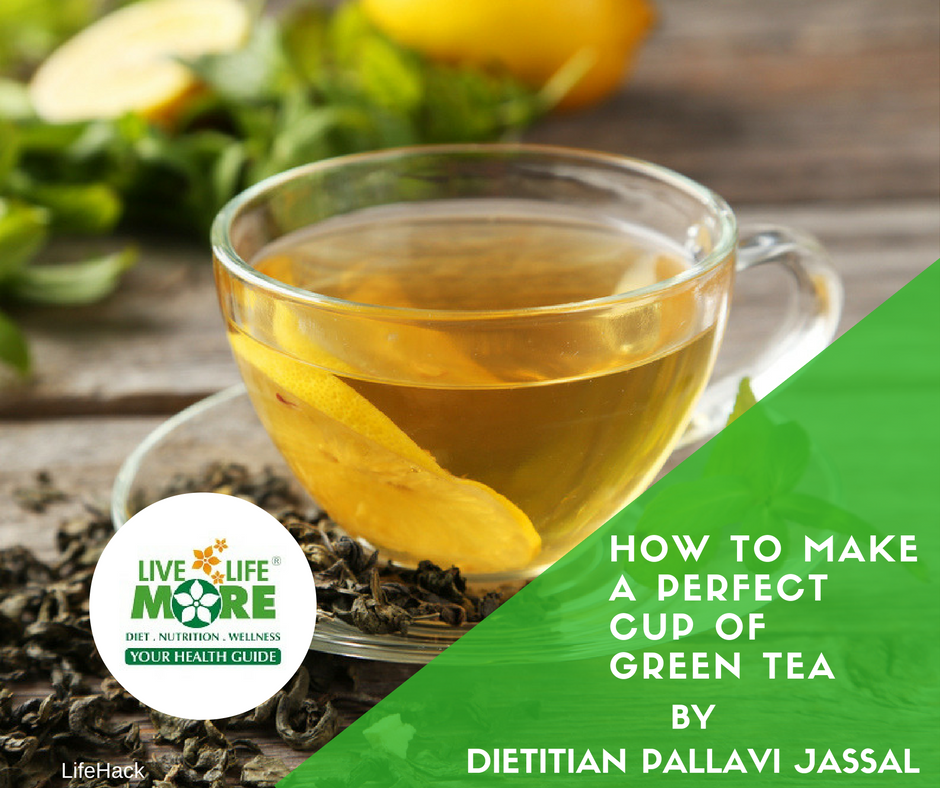 How To Make A Perfect Cup Of Green Tea