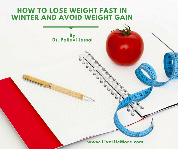 How to lose weight fast in winter and avoid weight gain