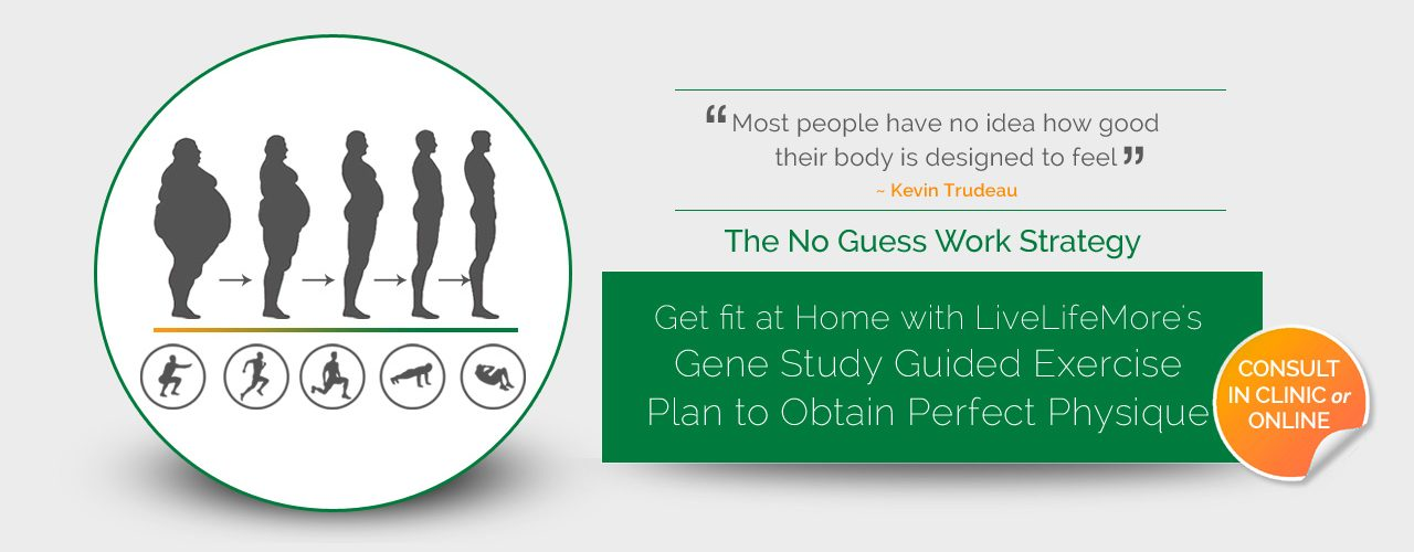 Gene Study Guided Exercise to Perfect Physique