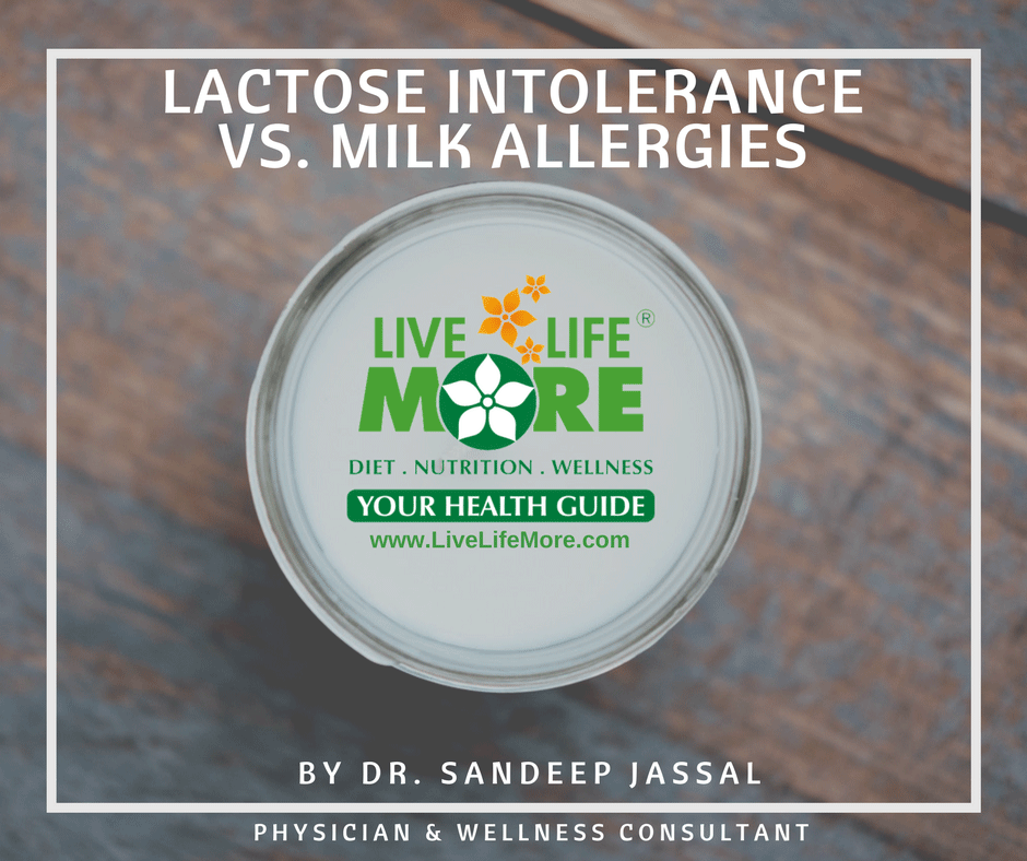 Lactose Intolerance Or Milk Allergy- Know the difference