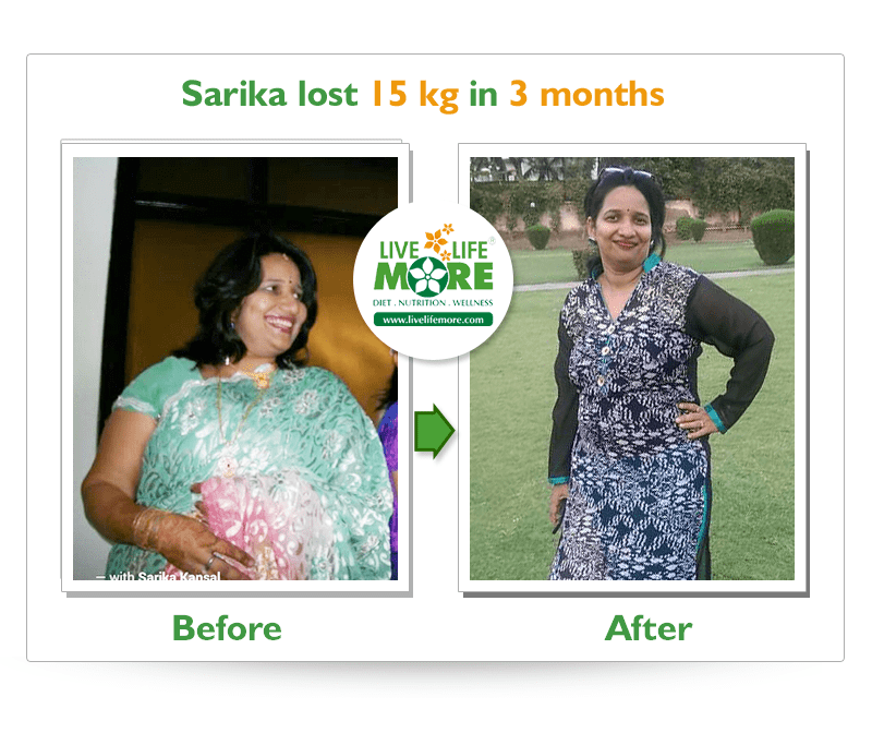 Sarika-Before-After-WeightLoss-Result