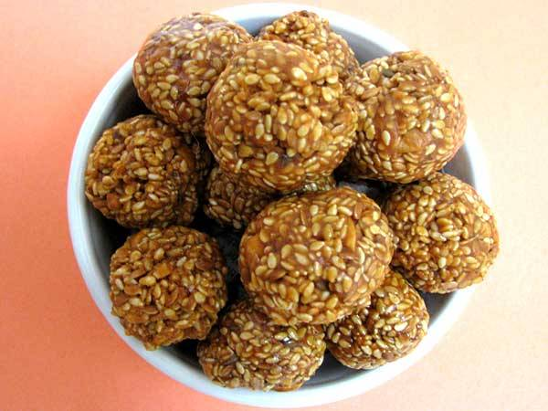 healthy-Lohri sweets & dishes