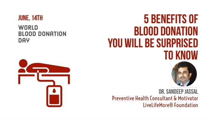 World Blood Donor Day 2018: 5 benefits of donating blood you will be surprised to know