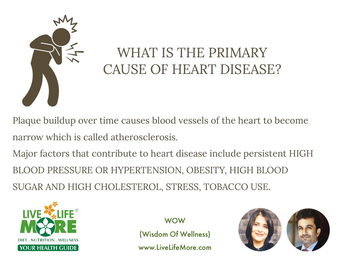 primary cause of heart disease