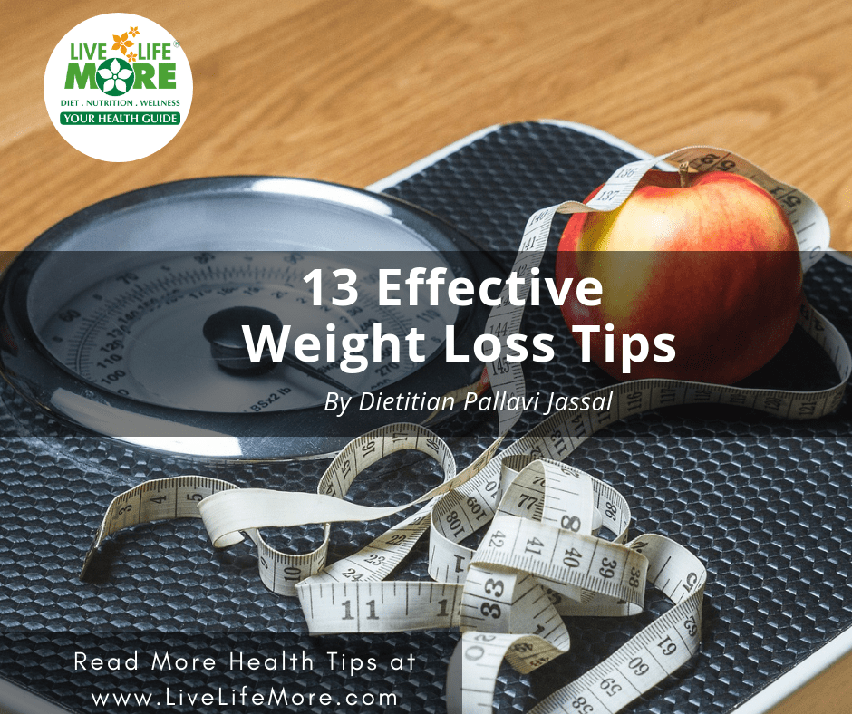 13 Effective Weight Loss Tips To stay fit forever