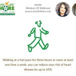 Walking can reduce heart disease