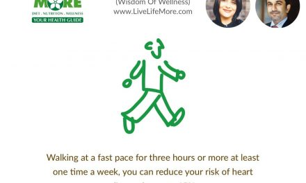Walking can reduce heart disease