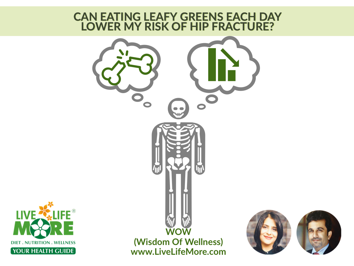 How Eating Green Leafy Vegetables Can Reduce Hip Fractures