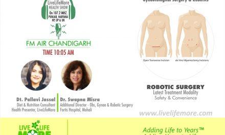LiveLifeMore Show – Robotic Gynae Surgery – Dr. Swapna Misra