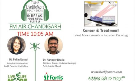 LiveLifeMore Show – Radiation Oncologoly – Dr. Narinder Bhalla