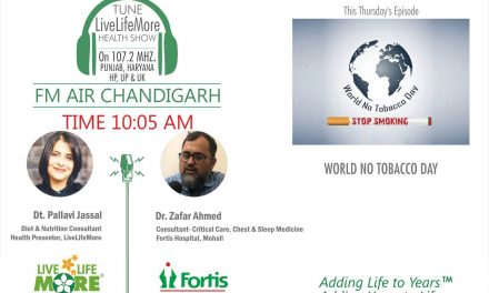 World No Tobacco Day Special LiveLifeMore Show – Dr Zafar Ahmed