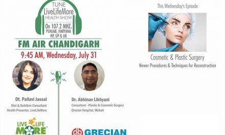 Live Life More Show – Cosmetic & Plastic Surgery – Dr Abhinav Likhyani