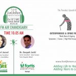 Live Life More Show – Spine Osteoporosis with Dr Deepak Joshi