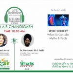 Live Life More Show – Spine Surgery with Dr. Harsimrat Bir S Sodhi