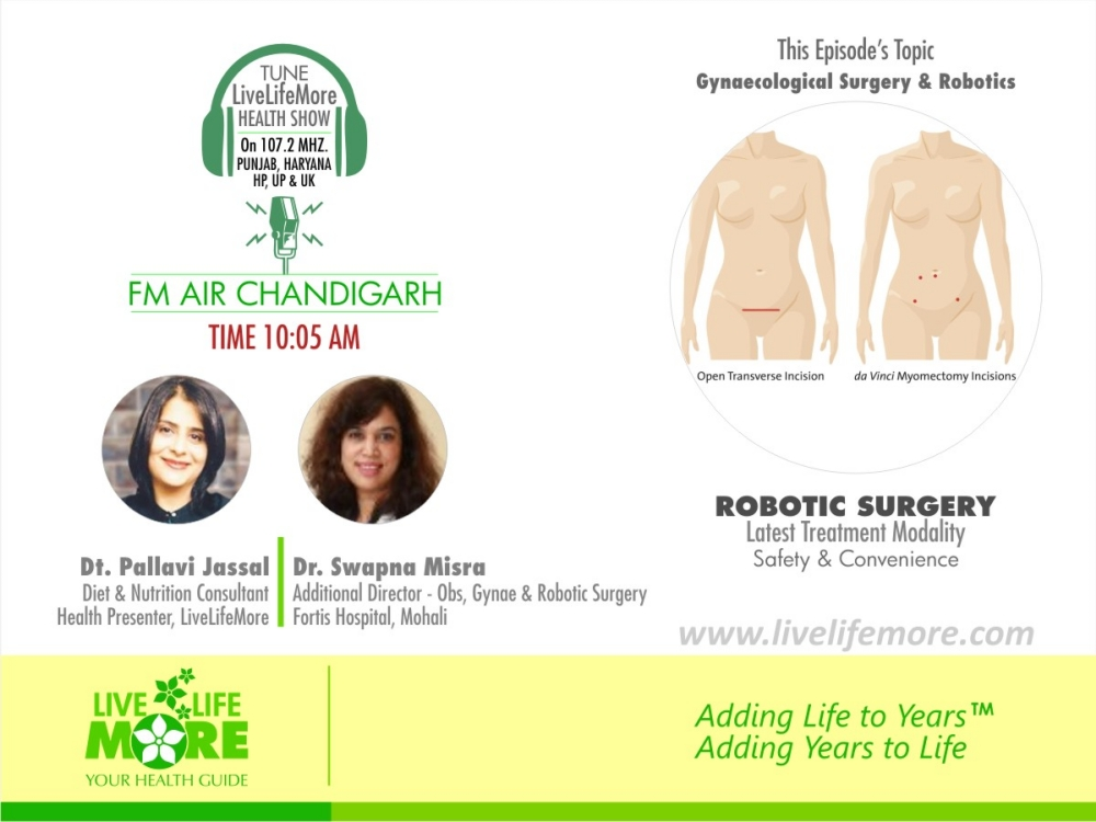 Live Life More Show – Robotic Surgery with Dr. Swapna Misra