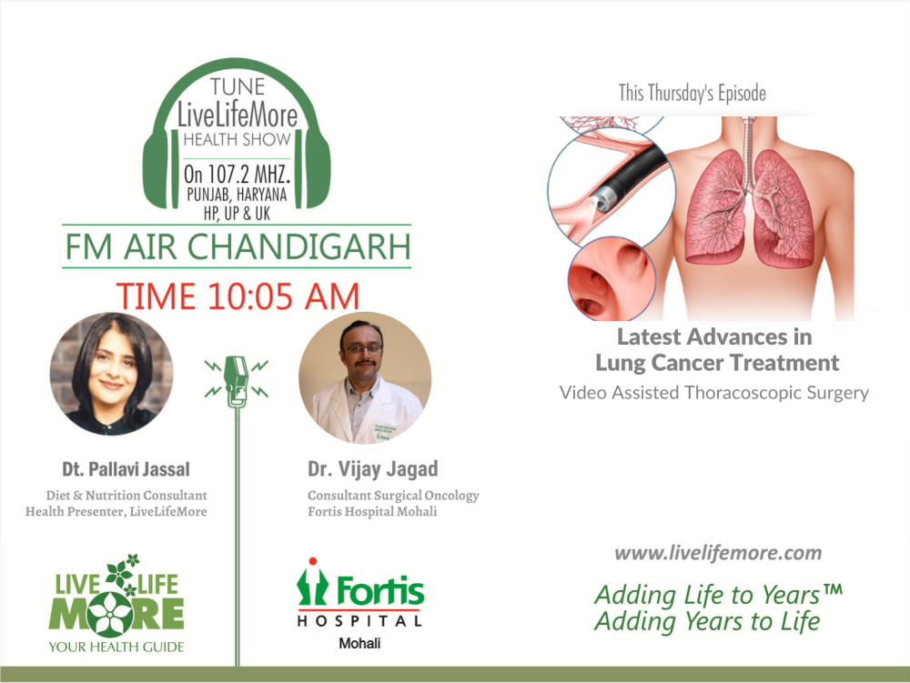 Live Life More Show – Latest Advances In Lung Cancer Treatment with Dr. Vijay Jagad