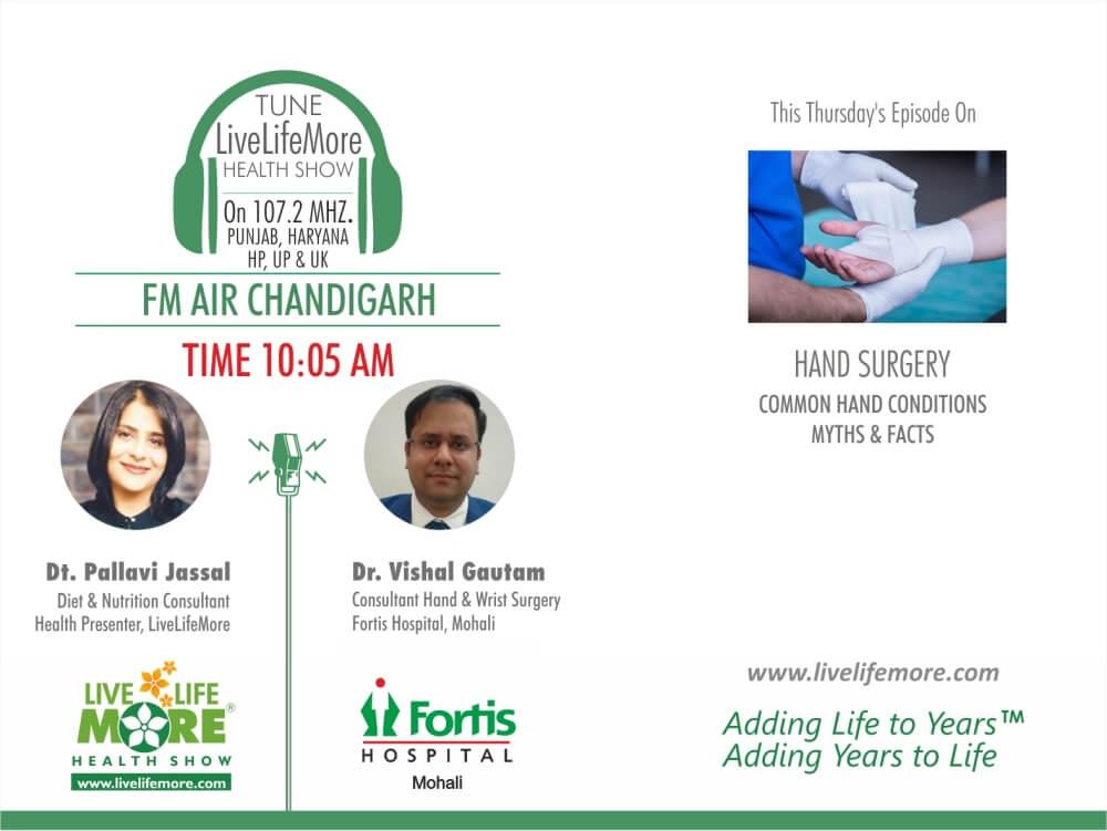 Live Life More Show – Hand Surgery with Dr. Vishal Gautam