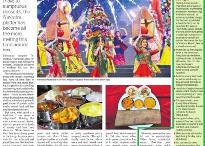 Tribune 04 Oct 2016 Navratri Diet