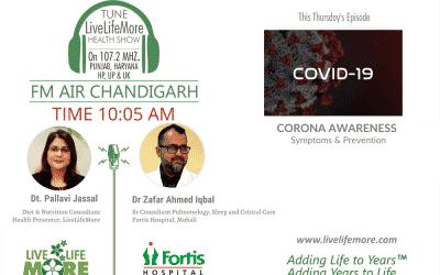 Live Life More Show – CORONAVIRUS Symptoms & Prevention with Dr. Zafar Ahmed Iqbal