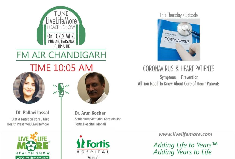 Live Life More Show – Relation of Coronavirus & Heart Disease with Dr. Arun Kochar
