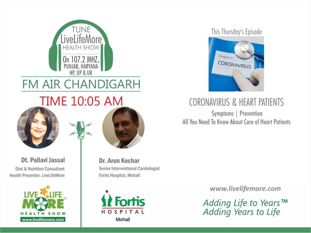 Live Life More Show – Relation of Coronavirus & Heart Disease with Dr. Arun Kochar