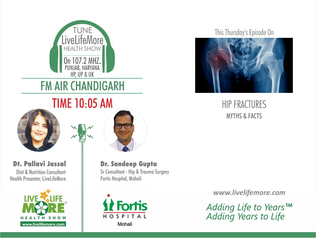 Live Life More Show – Hip Fractures Myths and Facts with Dr Sandeep Gupta