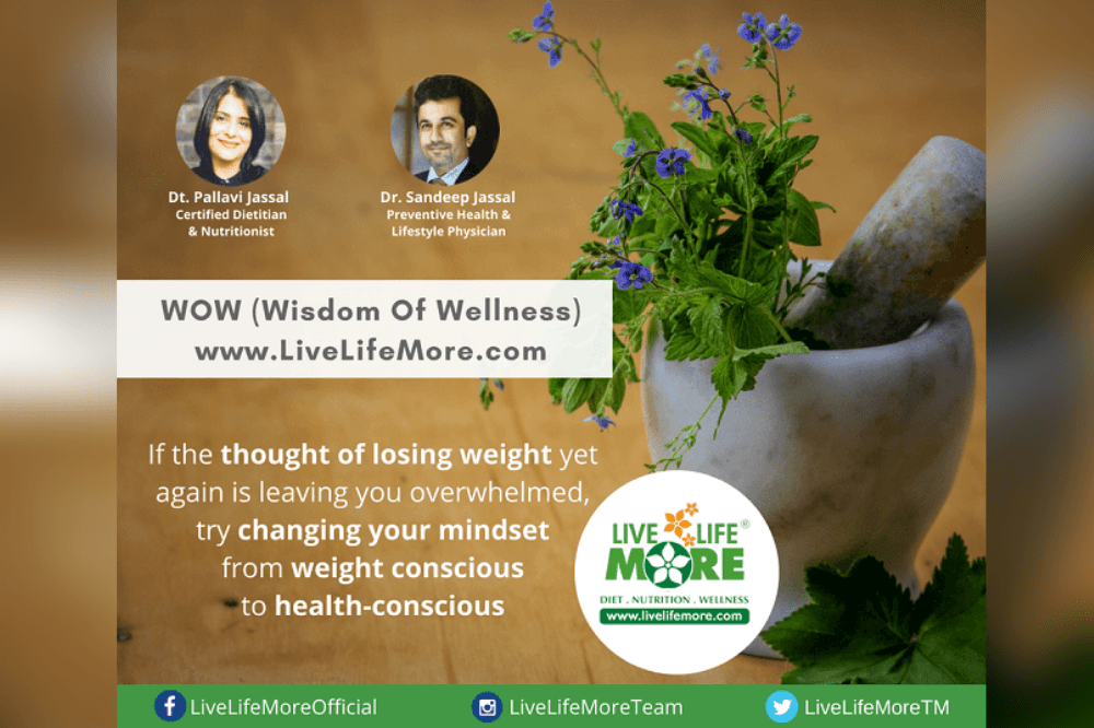 Should We Be Weight Conscious OR Health Conscious?