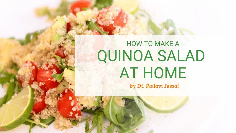 How To Make Healthy Quinoa Salad Recipe
