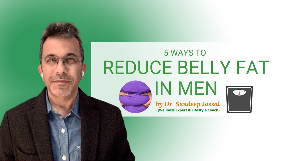 5 Ways To Reduce Belly Fat In Men